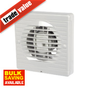 Manrose XF100T 20W Axial Bathroom Fan