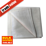No Nonsense Poly-Backed Dust Sheet 6' x 3'