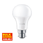 Philips LED GLS Lamp Frosted BC 6W