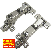 Sprung Clip-On Concealed Hinges 165° 35mm Pack of 2