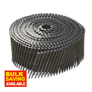 DeWalt Galvanised Ring Shank Coil Nails 2.1 x 45mm Pack of 17500