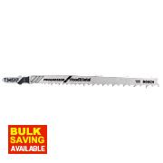Bosch Multipurpose Jigsaw Blade Bayonet T345XF Pack of 5