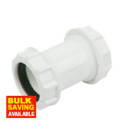 Universal Compression Waste Straight Couplers 40mm