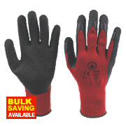 Skytec Tons Superior Builders Gloves Red Large