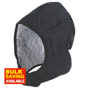 Unbranded Winter Helmet Liner Black