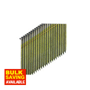 DeWalt Bright Collated Framing Stick Nails 2.8 x 75mm Pack of