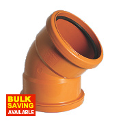Double Socket Bend 45°