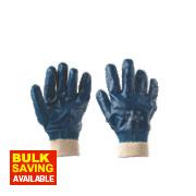 Keep Safe Nitrile Gloves Blue Large