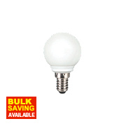 Sylvania White Golf Ball LED Lamp SES N/ALm 0.5W