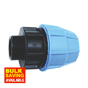 FloPlast MDPE Male Adaptor 25mm x ¾""