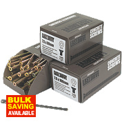 Easydrive Concrete Screws Trade Pack 300 Piece Set