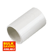 Straight Coupling 21.5mm Pack of 5