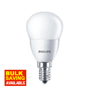 Philips LED Mini Globe Lamp Frosted SES 4W