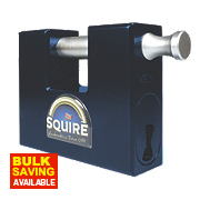 Squire Hi Security Container Lock High Security Container Padlock 80mm