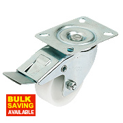 Polyprop Swivel Braked Castors 100mm