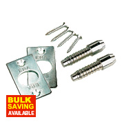 Hinge Bolts Steel 18 x 54mm