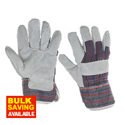 Keepsafe Canadian Rigger Gloves Grey Large