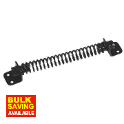Gate Spring Black 200mm