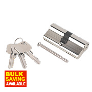 Smith & Locke 5-Pin Euro Double Cylinder Lock 35-35 (70mm) Nickel