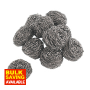 Minky Stainless Steel Scourers Pack of 10