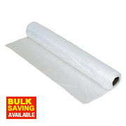 Harris Taskmasters Polythene Dust Sheet Roll 50m x 2m
