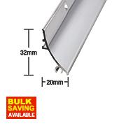 Stormguard Rain Deflector Polished Aluminium 838mm
