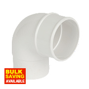White Offset Bend 92.5° 68mm