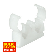 Double Hinge Clip 15mm Pack of 50