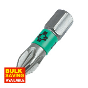 Wera Impact Driver Extra Tough Bit PZ2 25mm