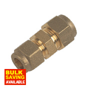 Compression Straight Coupler 8mm