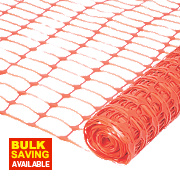 Barrier Fencing Orange 50 x 1m