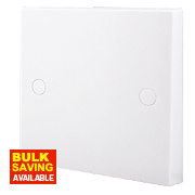 British General 20A Flex Outlet Plate White