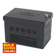 2 x 5-Way DP 100A Service Connector Block 35mm²