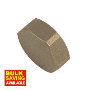 """BSP Brass Female Cylinder Blank 1"""""""