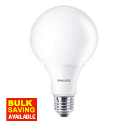 Philips LED Globe Lamp Frosted ES 13.5W