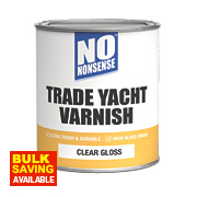 No Nonsense Yacht Varnish Gloss Clear 750ml