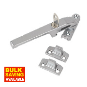 Jedo Lockable Casement Stay Satin Chrome 140mm