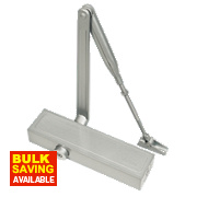 Briton 1120B Overhead Door Closer Silver