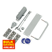 Push & Pull Set Satin Anodised Aluminium