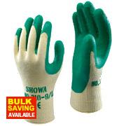 Showa 310G Grip Gloves Green Medium