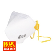 Fold Flat Dust Mask FFP2 Pack of 2