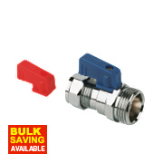 Pegler Washing Machine Valve 15mm x ¾""