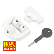 Yale uPVC Window Lock White
