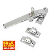 Jedo Lockable Casement Stay Polished Chrome 140mm