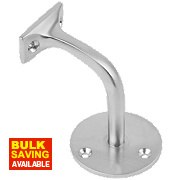 Handrail Bracket Satin Chrome 65mm