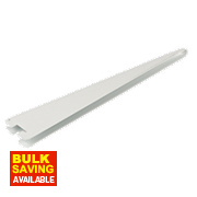 RB UK U-Brackets White 270 x 13mm 10 Pack