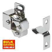 Roller Cabinet Catch Zinc-Plated 32mm Pack of 10