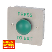 Heavy Duty Green Dome Exit Button
