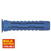 Rawlplug Rawl-4-All Wall Plugs 6-8 x 50mm Pk50
