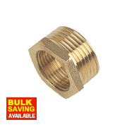 "Brass Bush 1"" x ¾"""